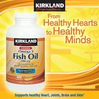 Omega-3 Fish Oil 1000mg 400sftgls