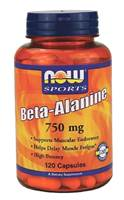 Beta Alanine 750mg 120カプセル