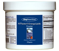 NT FACTORS ENERGY LIPID POWDER 150g